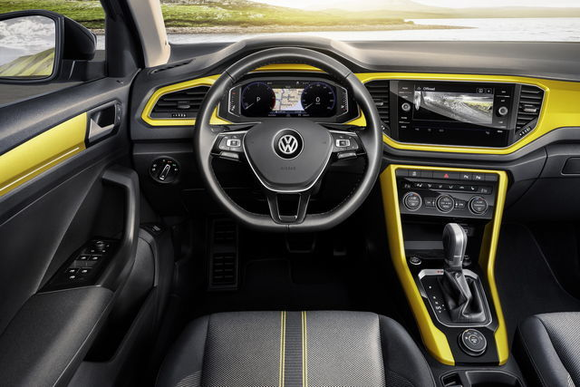 Interno Vw T-Roc
